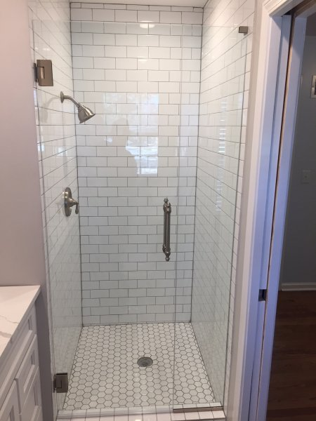 Gray Shower Ideas Bathroom