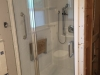 Semiframeless Euro Door & Panel chrome with clear glass