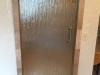 Frameless Heavy Glass Single Door Bamboo glass and Symphony Handle