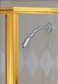 Gold Shower Door Finish