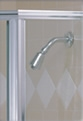Satin Shower Door Finish
