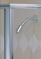 Brushed Nickel Shower Enclosure Finish