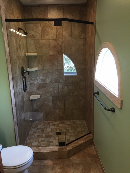 Rain Shower Door